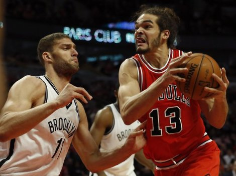 The New York Times Big men Brook Lopez and Joakim Noah will be literal centerpieces of the Bulls and Nets first-round matchup, though Noah is unlikely to play in Game 1 Saturday night.