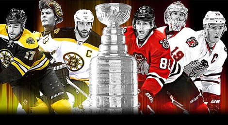 Getty Images  The 2013 Stanley Cup Final: Boston Bruins vs. Chicago Blackhawks.