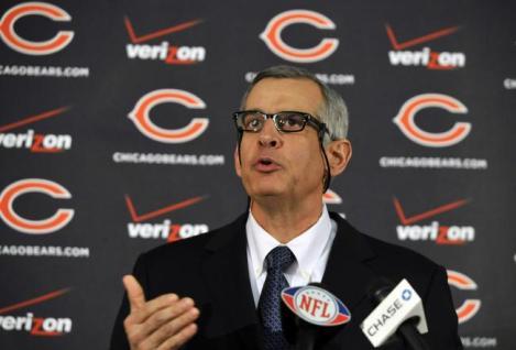 Chicago Bears GM Phil Emery