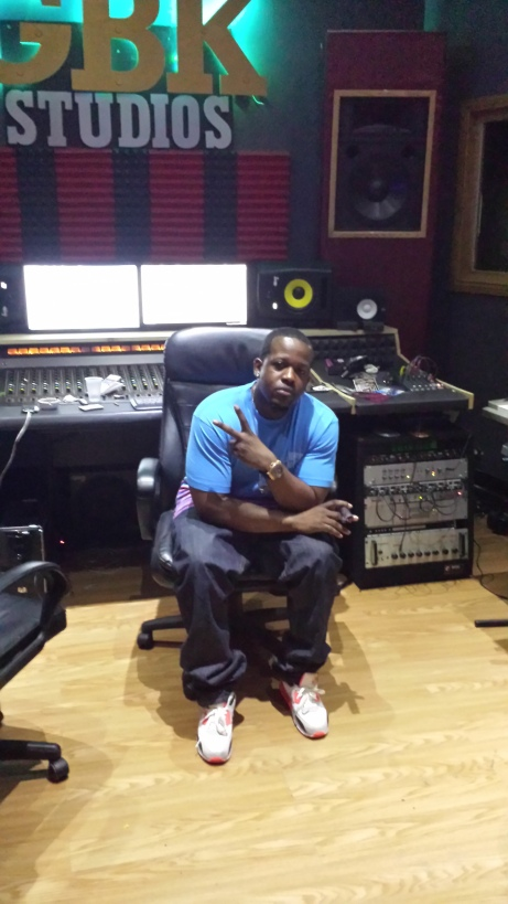 Rapper, entrepurneur and educator Naledge at xxxx Studio in Chicago earlier this month.