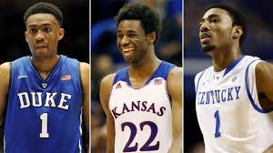 Image by ESPN Insider Duke's Jabari Parker, Kansas's Adrew Wiggins and James Young of Kentucky: all showcase players to keep an eye out for at the State Farm Champions Classic.