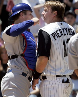 Neither Michael Barrett or A.J. Pierzyncyki are around to set the fight off anymore, but the Cubs and White Sox are still in a bitter battle for the hearts of Chicago baseball fans.