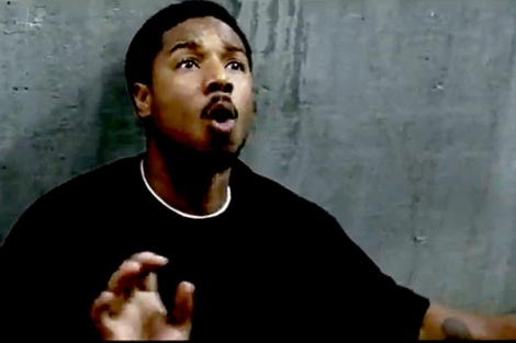 Oscar Grant, as portrayed by Michael B. Jordan, in Fruitvale Station, which was released this weekend in Chicago and will be released nationwide next week.