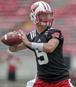 M.P. King/ Wisconsin State Journal Wisconsin Badgers quarterback Tanner McEvoy is gearing up to lead the Badgers back to the top of the Big Ten.