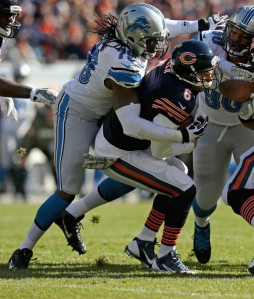 Jonathan Daniel/Getty Images A former tormenter of Jay Cutler, this year Willie Young may help Cutty get back on the field quicker.