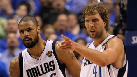 Ronald Martinez/Getty Images The reunion of Tyson Chandler and Dirk Nowitzki in the Dallas front court, last seen in 2011, is part of a successful off-season for the Mavericks.