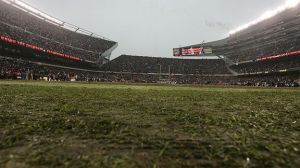 Scott Boehm/Getty Images The sod has been far from sweet for the Bears in the years of the re-designed Soldier Field.