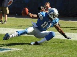 """Associated Press Calvin Johnson's notorious """"non-catch"""" led to a notable Week 1 win for the Bears in 2010."""