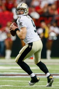 Kevin C. Cox/Getty Images New Orleans Saints quarterback Drew Brees drops back in action against Atlanta last Sunday. Even a fantasy football rookie knows well enough to trust Brees week-in and week-out.