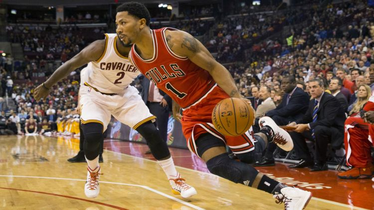 102014-FSO-NBA-Cleveland Cavaliers-Chicago Bulls-Derrick Rose