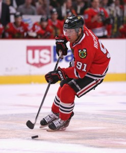 Jonathan Daniel/Getty Images Blackhawk Brad Richards celebrated his 1,000th NHL game this past week in a victory over the Dallas Stars.