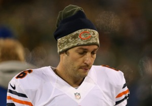 Jonathan Daniel/Getty Images Two jobs lost today are mainly on this guy's head. Could more fall, including Jay Cutler himself?