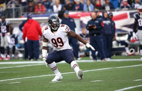 Chris Sweda/Chicago Tribune Bears defensive lineman Lamarr Houston certainly committed the goofiest act of the year, but is he Chicago sports' biggest dud of 2014?