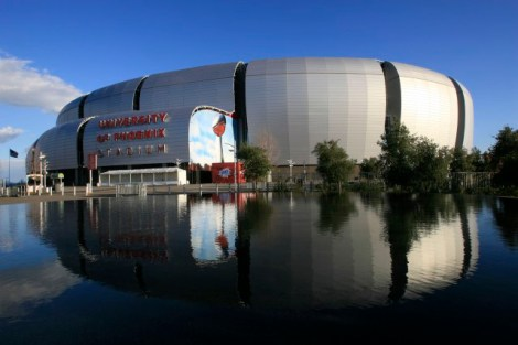 Super Bowl XLIX will be held at Arizona's University of Phoenix Stadium in Glendale, Ariz. (Rob Schumacher, The Arizona Republic)