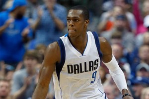 Tom Pennington/Getty Images Rajon Rondo's transition to Dallas has been smooth, but it won't likely yield a title this season.