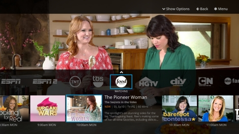 Courtesy: Dish.com A screenshot of the Sling TV service as it will look on your TV or internet-capable device.