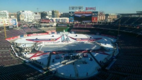 Chicago Sun-Times Nationals Park in Washington D.C. as it was for today's Winter Classic.