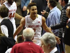 Jonathan Newton/The Washington Post Star guard Melo Trimble and Maryland basketball have certainly enjoyed their first season of Big Ten play.