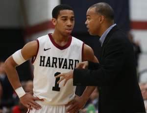 Matt West/Boston Herald Harvard coach Tommy Amaker knows the NCAA Tournament, could his experience help his underdog Crimson against big, bad UNC?