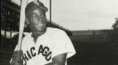 Minnie Minoso in his prime with the Chicago White Sox.