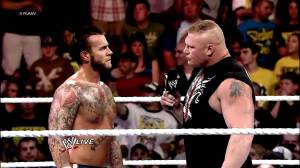 Courtesy: YouTube After the events of the past year, the moves of CM Punk and Lesnar seem like a trade between WWE and UFC.