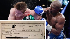 Credit: Fox News Latino The paychecks have certainly been mighty for Floyd, if not the competition.