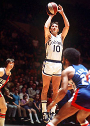 Courtesy: sportsecyclopedia.com Shout out to one of basketball's first 3-point specialists, Louie Dampier.