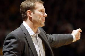 Jim Slosiarek/The Gazette Fred Hoiberg hopes to give the Bulls a more modern look on offense, potentially making them more of a threat to Cleveland.