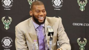 Gary Dineen / NBAE via Getty Images Greg Monroe -- the Bucks' first big free-agent acquisition in years has them excited for the future.
