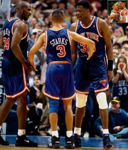 Nathaniel S. Butler/NBAE via Getty Images As tough and formidable as any '90s team, the Knicks got in the faces of many (including Scottie Pippen) but none of it meant a title for long-suffering NY basketball fans.