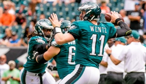 Philly Mag/Jeff Fusco Philadelphia's rookie QB Carson Wentz may not be scared of any Ruckus the Bears may bring.