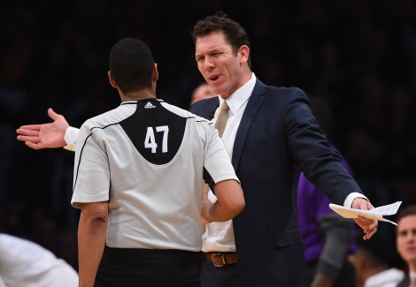 Getty Images First year coach Luke Walton has already brought elements of success from his time with Golden State to the Los Angeles Lakers, while remaining an energetic protector of his young squad.