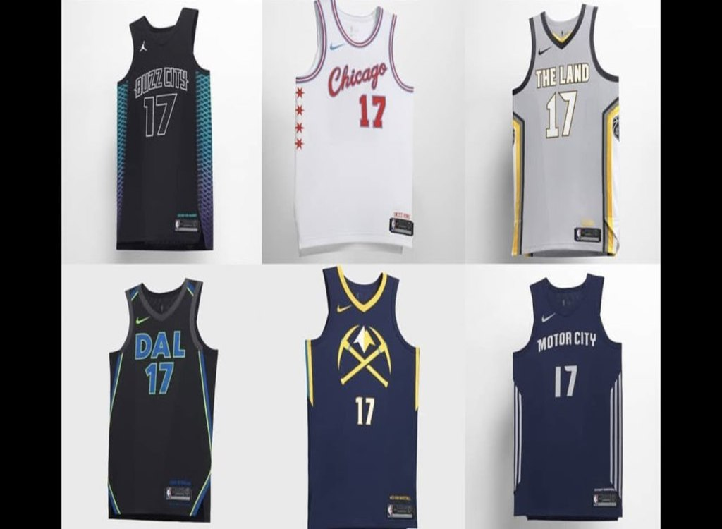 "NBA: Ranking The NBA, Nike\'s ""City"" Jerseys 