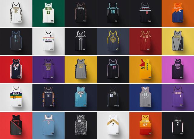 "519f9bc062c858 NBA: Ranking the '18-19 ""City Edition"" Jerseys 